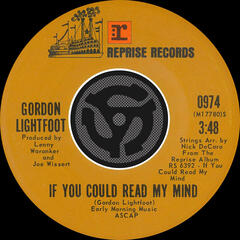 If You Could Read My Mind / Poor Little Allison [Digital 45]