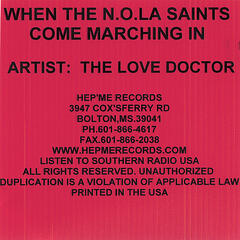 When The N.O.L.A. Saints Come Marching In
