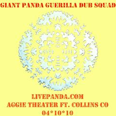 Live Panda! 2010-04-10 Aggie Theatre. Ft Collins, Co Pt. 1.