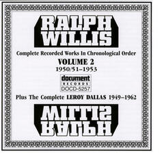 Ralph Willis Vol. 2 1951-1953