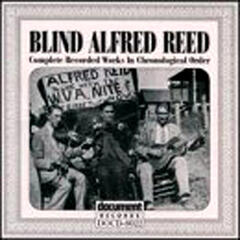 Blind Alfred Reed (1927-1929)
