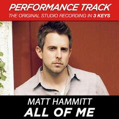 All of Me (Performance Tracks) - EP