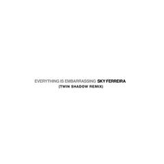 Everything is Embarassing (Twin Shadow Remix)