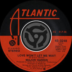 Love Won't Let Me Wait / After Loving You [Digital 45]
