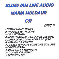 Blues Jam Live Audio: Maria Muldaur