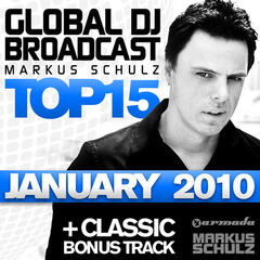 Global DJ Broadcast Top 15 - January 2010
