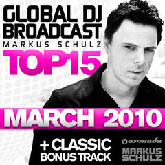 Global DJ Broadcast Top 15 - March 2010