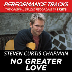 No Greater Love (Performance Tracks) - EP