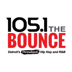 listen to 105.1 the bounce live detroit's throwback hip
