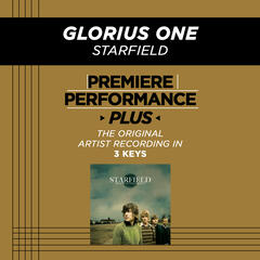 Glorious One (Medium Key Performance Track With Background Vocals)