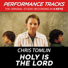 Holy Is The Lord (Performance Track In Key Of G)