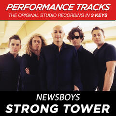 Strong Tower (Performance Track In Key Of G With Background Vocals)