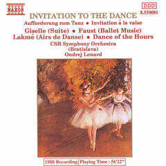 Aufforderung zum Tanze (Invitation to the Dance), Op. 65, J. 260 (orch. Berlioz) | Invitation to the Dance (orch. Berlioz), J. 260 [Weber]