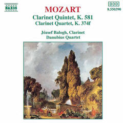 Clarinet Quintet in A major, K. 581 | III. Menuetto [Mozart]