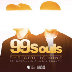 The Girl Is Mine featuring Destiny's Child & Brandy (Club Mix) by 99 Souls