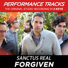 Forgiven (Medium Key Performance Track With Background Vocals)