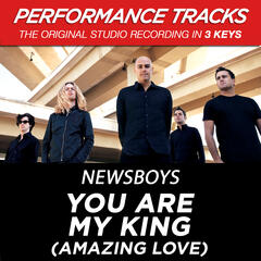 You Are My King (Amazing Love) (Performance Track In Key Of A Without Background Vocals)