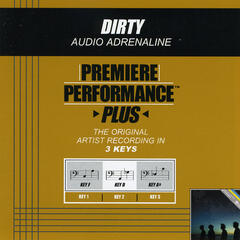 Dirty (Performance Track In Key Of D)