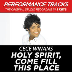 Holy Spirit, Come Fill This Place (Performance Track In Key Of Db-E-G)