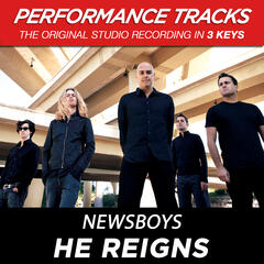 He Reigns (Performance Track In Key Of G Wiithout Background Vocals)