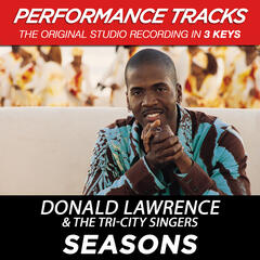 Seasons (Performance Track In Key Of F)