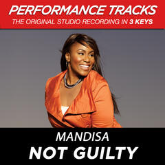 Not Guilty (Medium Key Performance Track With Background Vocals)