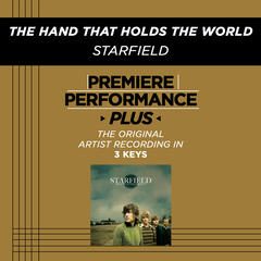 The Hand That Holds The World (Medium Key Performance Track With Background Vocals)