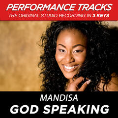 God Speaking (Low Key Performance Track Without Background Vocals)