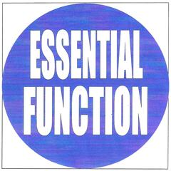 Essential function