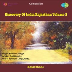 Discovery of India Rajasthan - Vol3