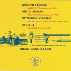 Historical Organs of Sicily (Italy)