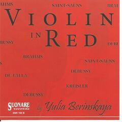 Violin In Red
