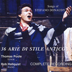 Songs of Stefano Donaudy: 36 Arie di Stile Antico