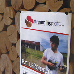 Pat LePoidevin Live at Streaming Cafe