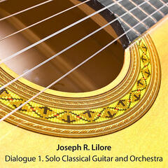 Dialogue 1. Solo Classical Guitar and Orchestra