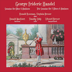 Ronald Roseman plays Georg Frideric Handel