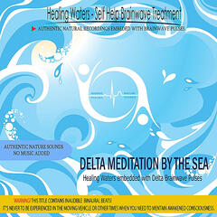 Delta Meditation by the Sea  (embedded with Delta Brainwave Pulses - Binaural Beats)