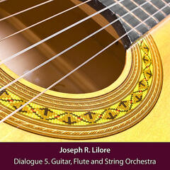 Dialogue 5. Classical Guitar, Flute and String Orchestra
