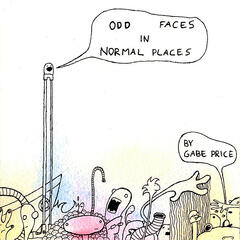 Odd Faces in Normal Places