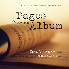 Pages from an Album: Selected Showpieces for Violin and Piano