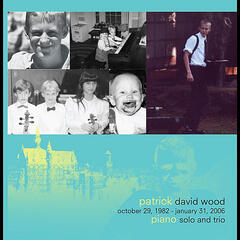 Patrick Wood Piano Solo and Trio