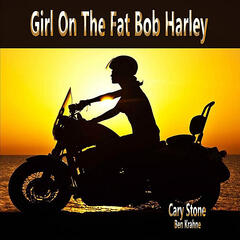 Girl On the Fat Bob Harley