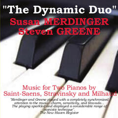The Dynamic Duo: Merdinger and Greene Perform Music for Two Pianos