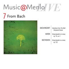 Music@menlo, From Bach, Vol. 7