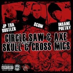 Circle Saw & Axe / Skull & Cross Mics