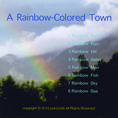 A Rainbow-Colored Town