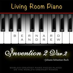 J. S. Bach: Invention No. 2 in C Minor, BWV 773: Variation No. 2 (Living Room Piano Version)