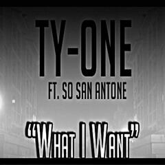What I Want (feat. So San Antone)