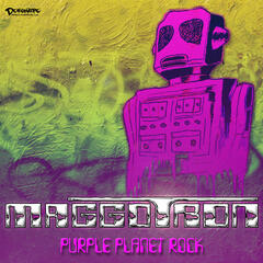 Purple Planet Rock