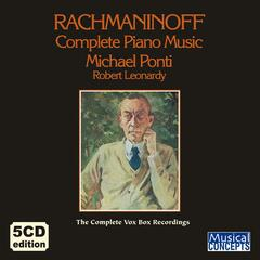 Rachmaninoff: Complete Piano Music — The VOX BOX Edition